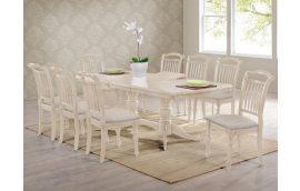 Кухонные столы: купить Стол Палермо айвори лайт Domini