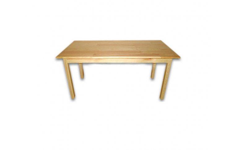 Школьные парты: купить Стол детский прямоугольный из натурального дерева - 1