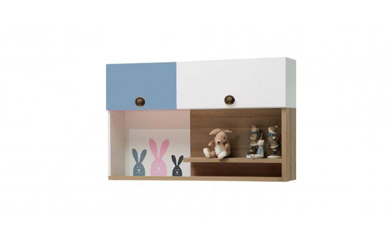 Детская мебель: купить Детский навесной шкаф (Bunny) LuxeStudio - 1
