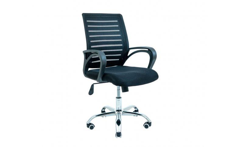 Офисные стулья: купить Кресло Флеш (Flesh) Черный Richman - 1