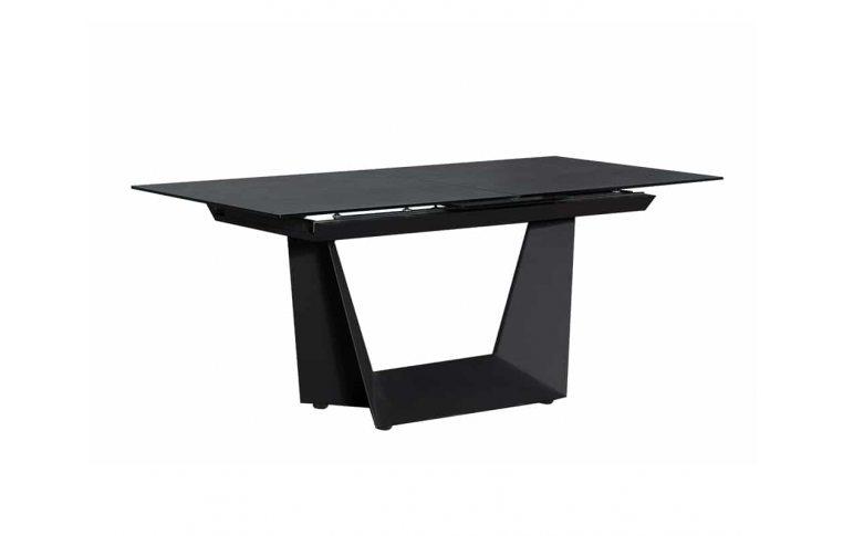 Кухонные столы: купить Стол Антей черный керамика - 1