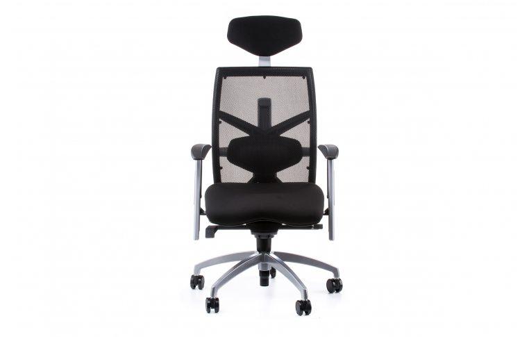 Офисные кресла: купить Кресло EXACT BLACK FABRIC, BLACK MESH - 2
