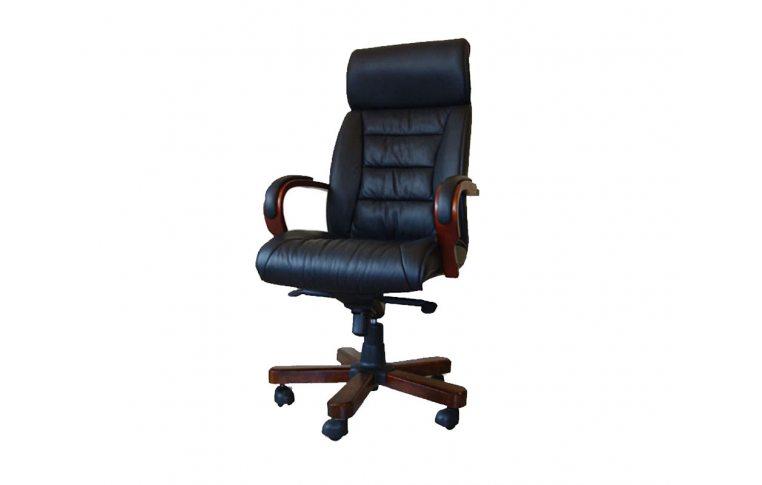 Кресла для руководителя: купить Кресло Тренто СА-1808А черный Диал - 1