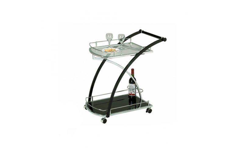 Кухонная мебель: купить Столик сервировочный цв.чер. SС-5071 - 1