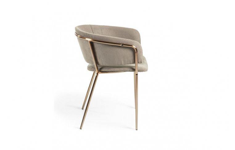 Кухонные стулья: купить Стул Konnie серо-коричневый золото La Forma - 2
