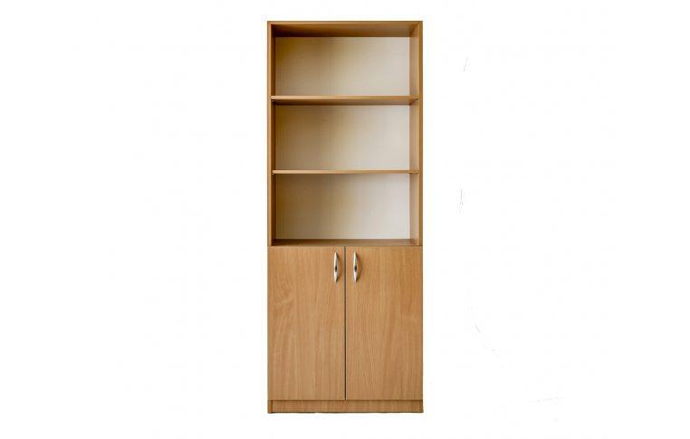 Офисные шкафы: купить Стеллаж для документов Сильф ОБ1-400 ДСП бук - 2