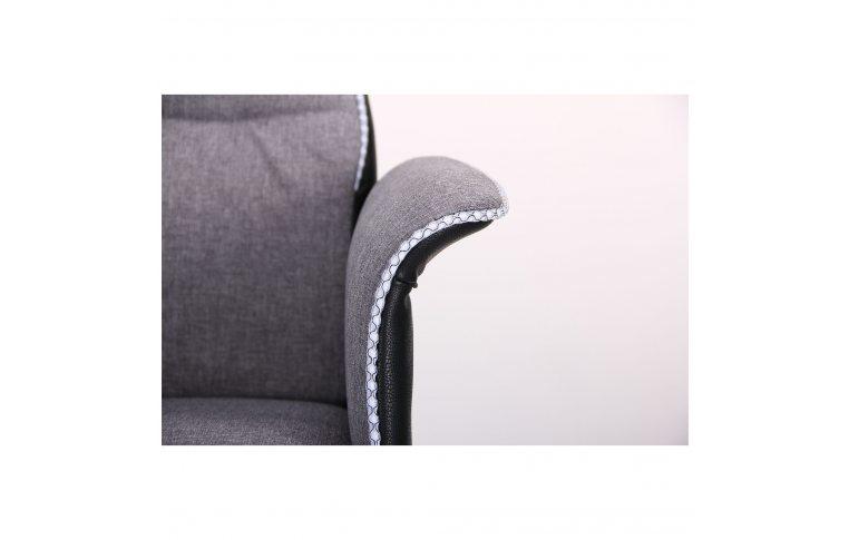 Кресла для руководителя: купить Кресло Brooklyn светло-серый, черный - 6