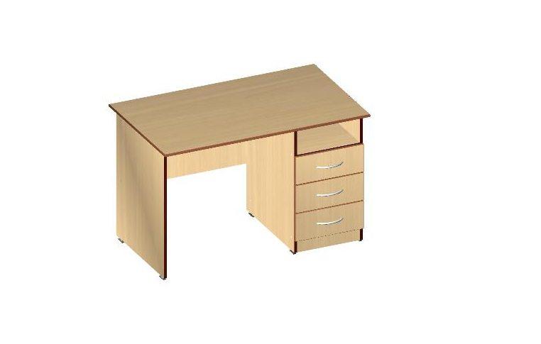 Письменные столы: купить Стол письменный Сильф СП-3Я ДСП бук - 1