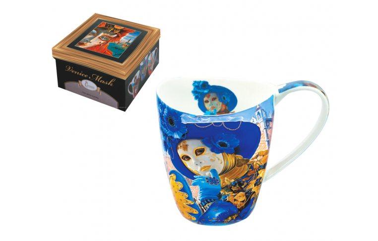 Декор для дома: купить Кружка «Голубая маска» 400 мл - 1