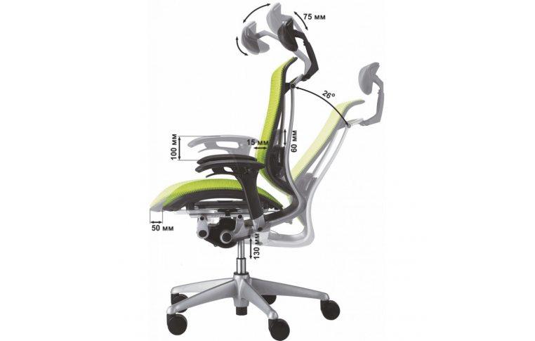 Кресла для руководителя: купить Кресло Okamura Contessa - 3