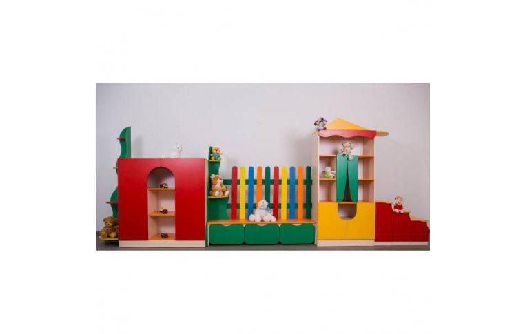 """Мебель для детского сада: купить Стенка """"Елочка"""" - 1"""