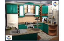Кухня под заказ Бриджит Сильф - Кухни прованс
