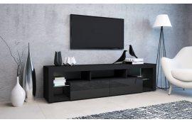Тумба под ТВ Hugo 200 черный/черный Accord - Тумбы под телевизор