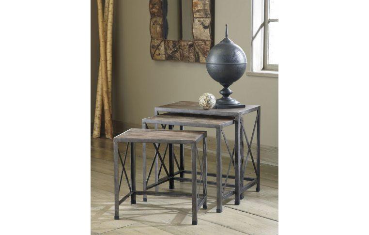 Журнальные столы: купить Стол угловой (н-р из 3 шт.) T500-716 - 2