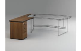 Офисные столы: купить Приставка к столу с тумбой Статус