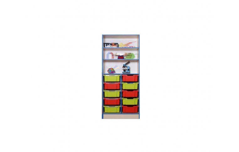 Школьные шкафы: купить Шкаф с пластиковыми лотками - 1