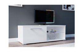 Тумба под ТВ Moon 100 белый/белый Accord - Тумбы под телевизор