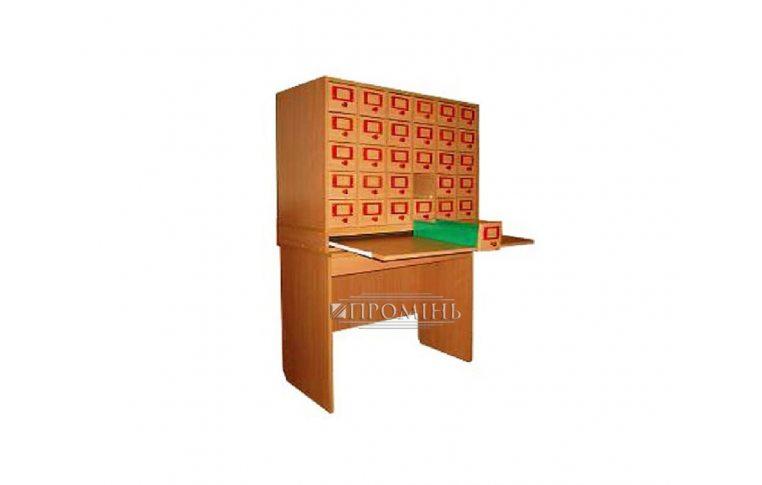 Школьные шкафы: купить Шкаф картотечный (30 ящ.) - 1