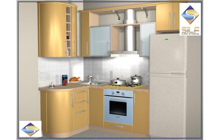 Кухни на заказ: купить Кухня под заказ Каролина Сильф - 1