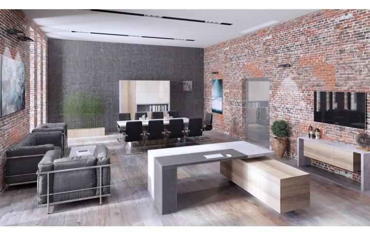 Офисная мебель: купить Стол руководителя Урбан - 2