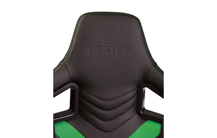 Игровые кресла: купить Кресло для геймеров Hexter Pro r4d Tilt mb70 Eco/03 Black/Green - 7