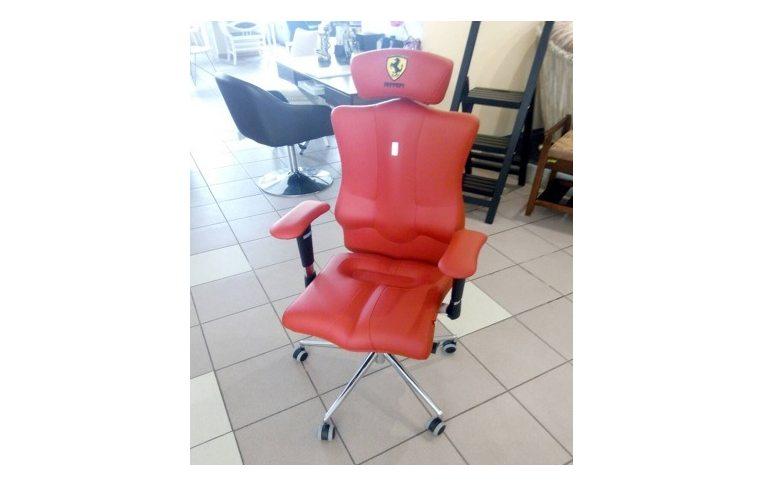Кресла для руководителя: купить Кресло Elegance красный, подголовник - 1