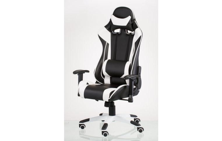 Офисные кресла: купить Кресло ExtremeRace black/white - 1