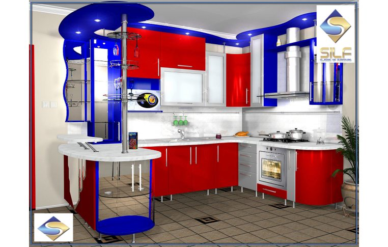 Кухонная мебель: купить Кухня под заказ Шарлотта Сильф - 1