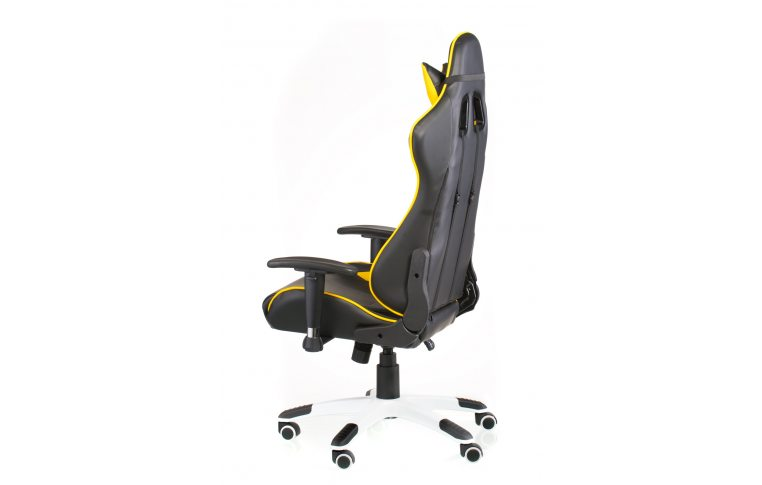 Геймерские кресла: купить Кресло ExtremeRace black/yellow - 5