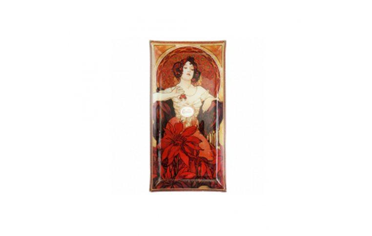 Декор для дома: купить Тарелка декоративная «Альфонс Муха. Рубин» - 1