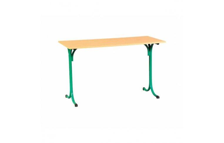 Школьные парты: купить Стол обеденный школьный (столешница-пластик) - 1