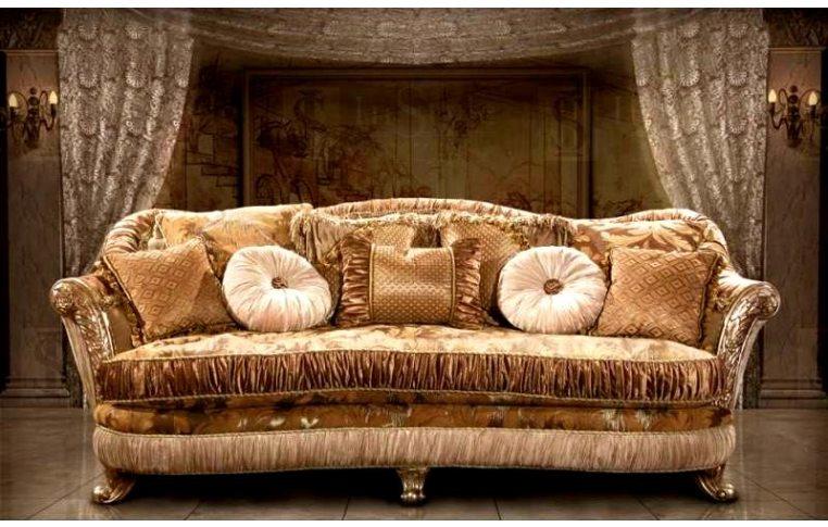 Мягкая мебель: купить Диван прямой Лувр + кресло Лувр, США - 2