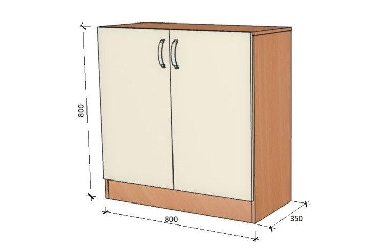 Школьные шкафы: купить Модуль стенка школьная НШ-В-5 - 1