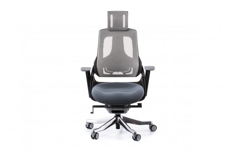 Кресла для руководителя: купить Кресло WAU SLATEGREY FABRIC, SNOWY NETWORK - 2