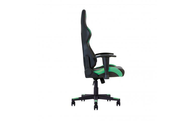 Игровые кресла: купить Кресло для геймеров Hexter ml r1d Eilt pl70 Eco/01 Black/Green - 4