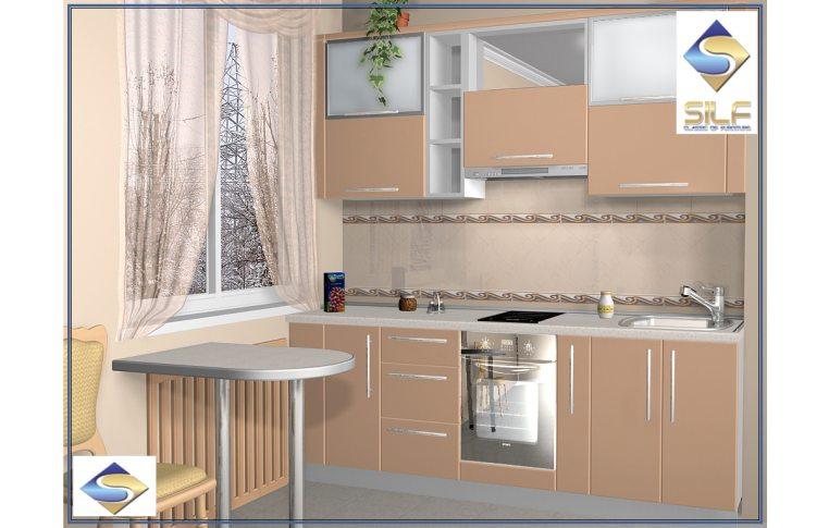 Кухни на заказ: купить Кухня под заказ Николь Сильф - 1