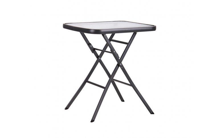 : купить Стол Mexico т.серый, стекло - 1