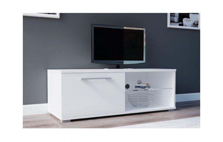 Тумбы под телевизор: купить Тумба под ТВ Moon 100 белый/белый Accord - 1