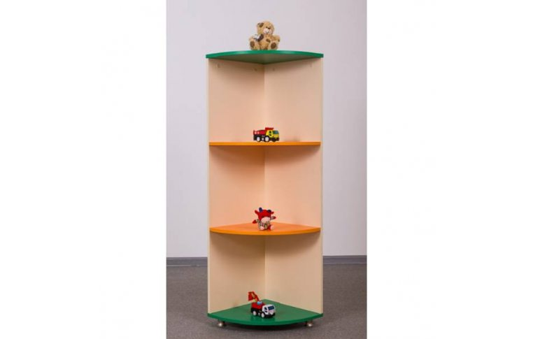 Мебель для детского сада: купить Секция угловая большая - 1