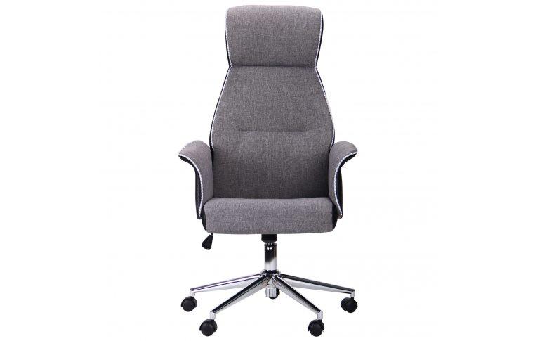 Кресла для руководителя: купить Кресло Brooklyn светло-серый, черный - 2
