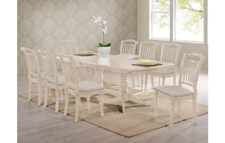 Кухонные столы: купить Стол Палермо айвори лайт Domini - 1