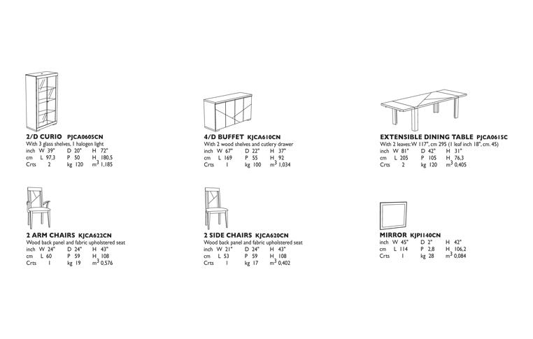 Итальянская мебель: купить Столовая в современном стиле Capri Alf Group - 2