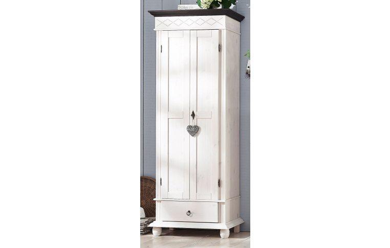 """Мебель для гостиной: купить Шкаф 2-х дверный """"Хелма"""" (белый воск) Д7113-11 Domini - 1"""