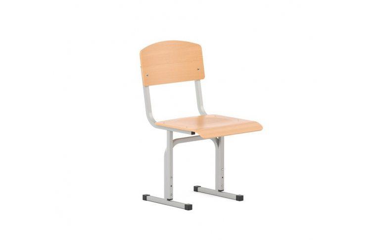 Школьная мебель: купить Стул ученический регулируемый E-274 BR ALU - 1