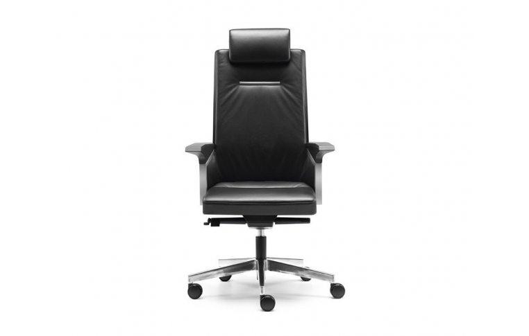 Кресла для руководителя: купить Кресло Sokoa K01 кожаное - 5