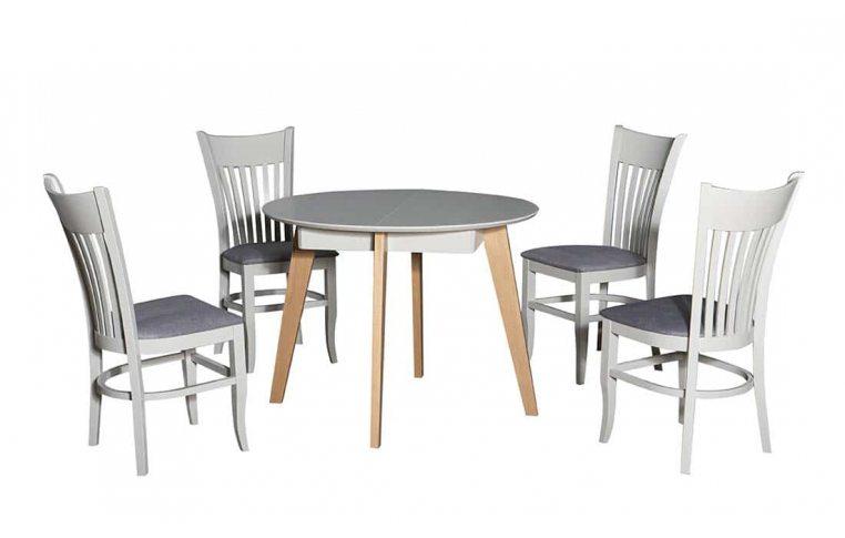 Кухонные столы: купить Стол Марс серый дуб Павлик - 5