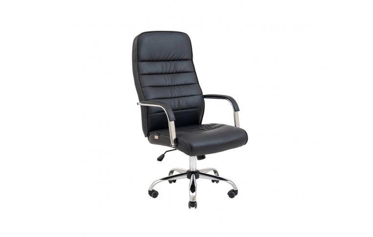 Кресла для руководителя: купить Кресло Лион Хром Черное Richman - 1