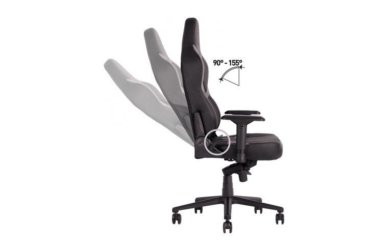 Игровые кресла: купить Кресло для геймеров Hexter xr r4d mpd mb70 Eco/01 Black/Grey - 9