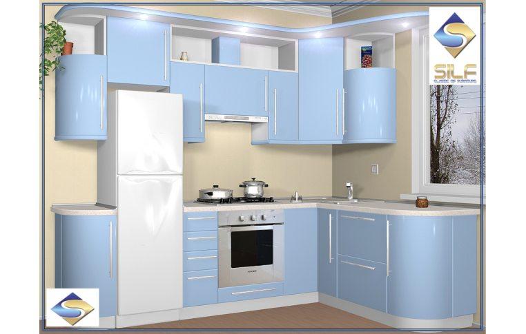 Кухни на заказ: купить Кухня под заказ Терри Сильф - 1