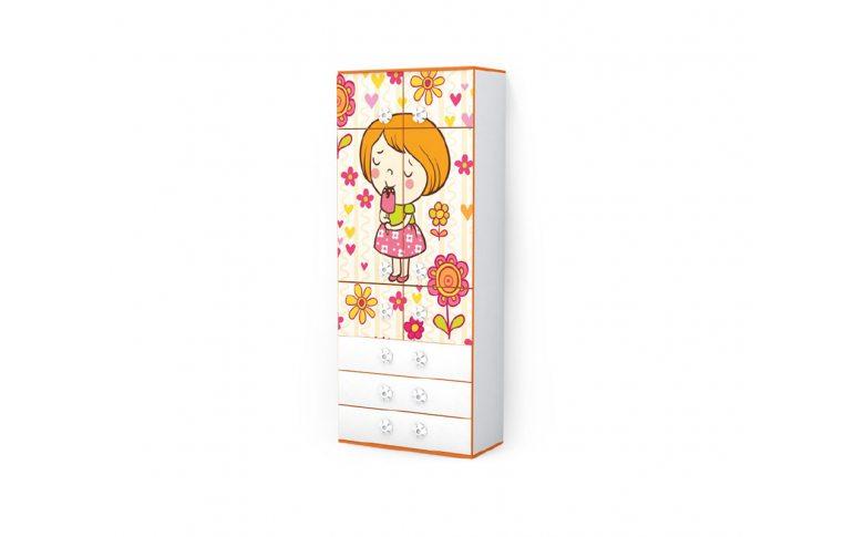 Детская мебель: купить Детский шкаф Мандаринка (Mandarin) LuxeStudio - 1